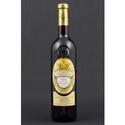 Chardonnay 2015, barrique, výběr z hroznů, Vinařství Krist Tomáš