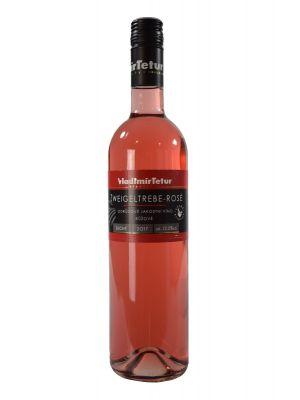 Zweigeltrebe rosé 2017, jakostní víno , Vinařství Vladimír Tetur