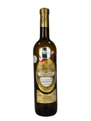 Chardonnay, kabinet 2017, Vinařství Krist Tomáš