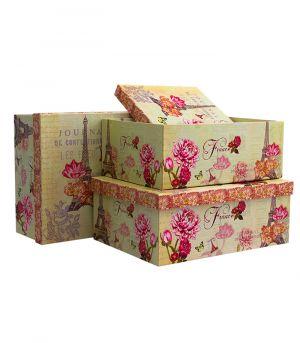 Dárková krabice FRANCE, sada 3 ks