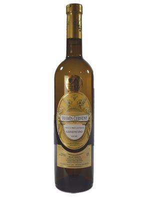 Tramín červený 2016, kabinetní víno, Vinařství Tomáš Krist