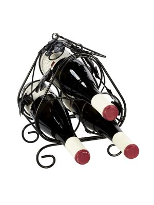 Stojan na víno na 3 lahve - STOV