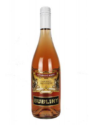 Cabernet sauvignon Rosé - Bubliny, Vinařství Krist Tomáš