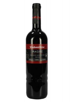 André 2016, jakostní víno, Vinařství Vladimír Tetur