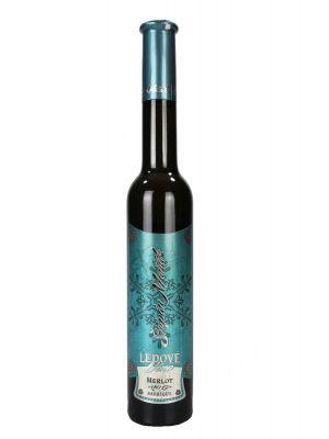 Merlot Barrique, ledové víno 2017, Vinařství Maňák
