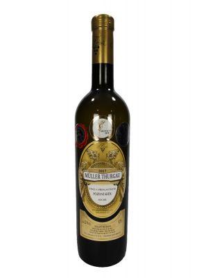 Müller Thurgau 2017, pozdní sběr, Vinařství Krist Tomáš