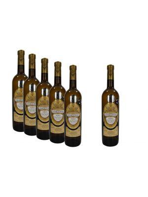 Vinný set 5+1, Chardonnay 2015, Barrique, výběr z hroznů, Vinařství Krist