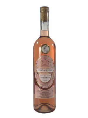 Cabernet Sauvignon rosé 2015, výběr z hroznů,  Vinařství Krist Tomáš