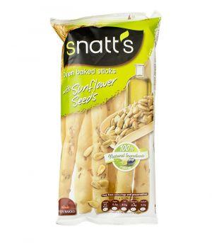 Chlebové tyčinky se slunečnicovými semínky a olivovým olejem,  Snatts, Grefusa, Španělsko