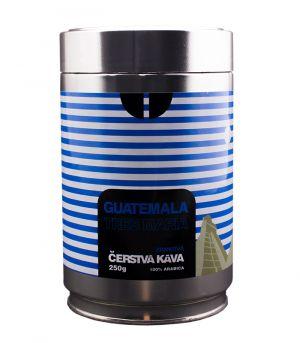 Čerstvá káva Guatemala Tres Maria, zrnková, dóza