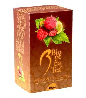 Biogena Tea, malina a camu camu