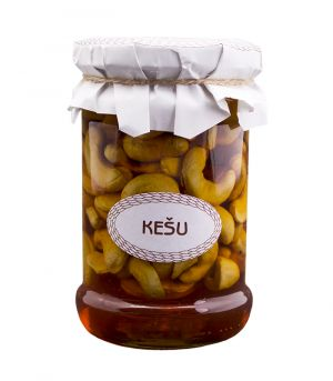 Medová pochoutka s ořechy, Kešu, Antonín Škoda