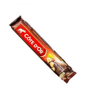 Hořká čokoláda s celými lískovými oříšky, Cote D´Or