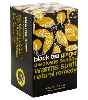 Black tea ginger, Vintage teas