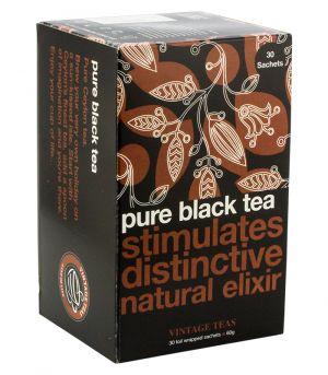 Pure Black tea, Vintage teas
