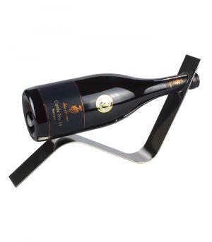 Stojan na víno na 1 láhev - STOP - vlna