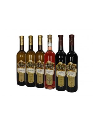 Degustace vín, Vinařství Krist 6 lahví