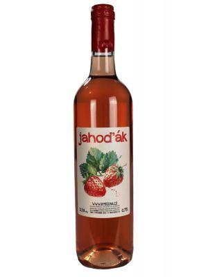 Jahodové víno