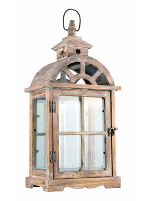 Dřevěná lucerna - LT0033bs