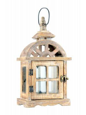 Dřevěná lucerna - LT0033bm