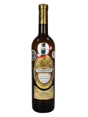 Chardonnay, výběr z hroznů 2017, Vinařství Krist