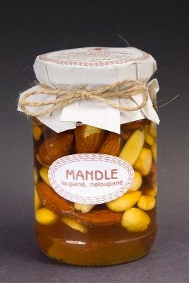 Medová pochoutka s ořechy, Mandle, Antonín Škoda