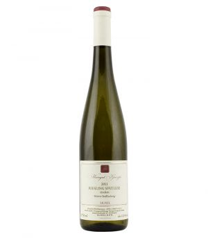 Riesling Spätlese trocken 2011, Vinařství Weingut Greszta