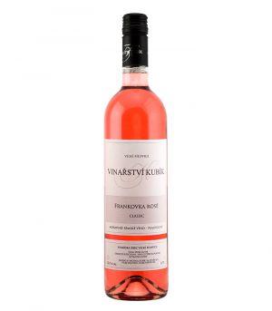 Frankovka rosé, classic, zemské, Vinařství Kubík