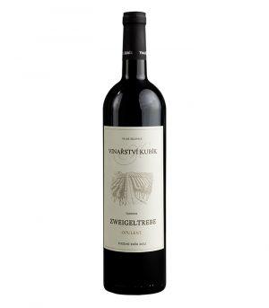 Vinařství Kubík, Zweigeltrebe opulent, pozdní sběr, 2012, 0,75 l