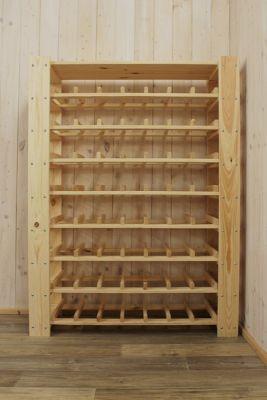 Stojan na víno na 56 lahví - RV5