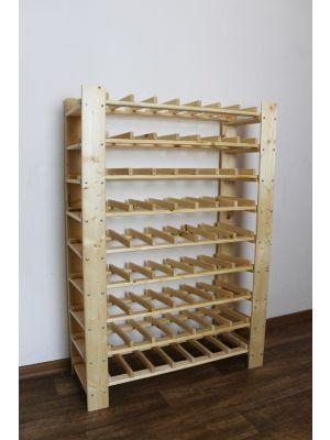 Stojan na víno na 63 lahví - RV5