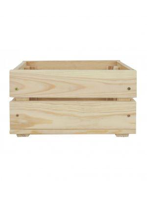 Dřevěná bedýnka  39x29,3x16,4 cm
