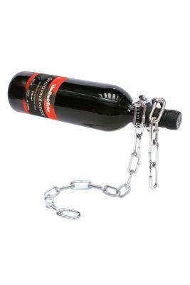 Stojan na víno na 1 láhev - STOP - řetěz