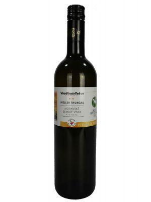 Svatomartinské Müller Thurgau, 2018, Vinařství Tetur