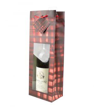 Taška na víno - OKÉNKO KÁRO
