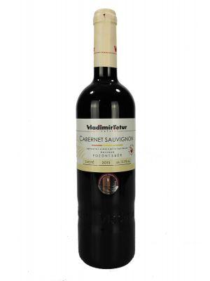 Cabernet Sauvignon, pozdní sběr 2015, Vinařství Tetur