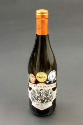 Vinařství Krist Tomáš, Sauvignon, výběr z bobulí, Kristovy poklady, 2012 0,75l