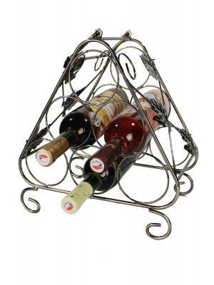 Stojan na víno na 6 lahví - STOV