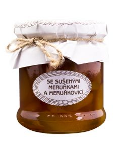 Medová chuťovka malá, se sušenými meruňkami a meruňkovicí, Antonín Škoda