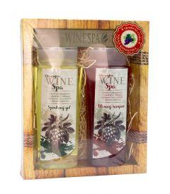 Dárkové balení Wine Spa - vl. šampon, sprchový gel