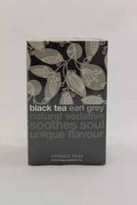 Black tea earl grey, Vintage teas