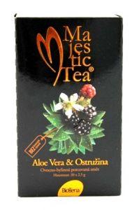 Majestic Tea, Aloe Vera a Ostružina, Biogena CB