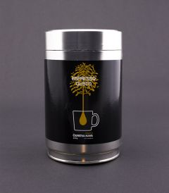 Čerstvá káva Espresso Gusto, zrnková, dóza