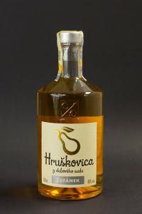Žufánek Hruškovica z dubového sudu 0,5 l