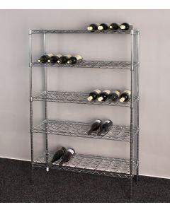 Stojan na víno na 45 lahví - DELUXE