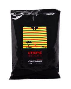 Čerstvá zrnková káva Etiopie Sidamo, Arabica, Michal Jirek