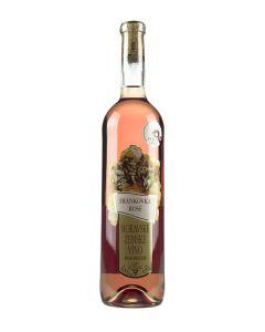Frankovka rosé, zemské víno, Vinařství Krist Tomáš