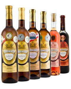 Degustační set kabinetních vín, Vinařství Krist Tomáš