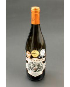 Sauvignon 2012, výběr z bobulí, Kristovy poklady, Vinařství Krist Tomáš