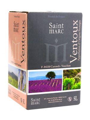 Cuvée Beffroi blanc A.O.C. Cotes du Ventoux - Bag in Box 5 l